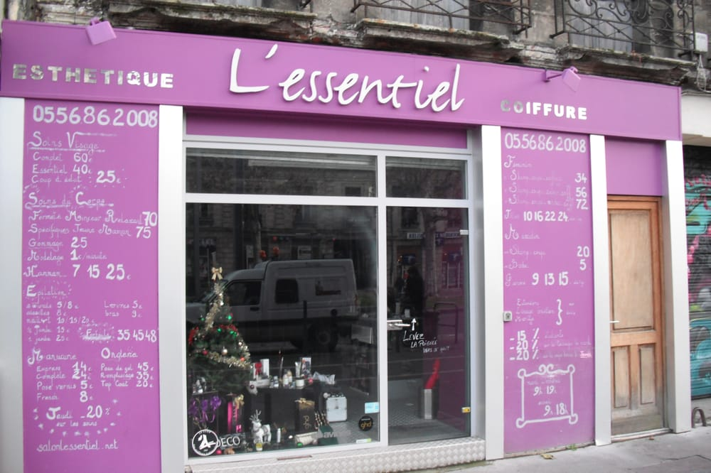 Salon l essentiel coiffure closed hair salons 31 ave - Cabinet radiologie avenue thiers bordeaux ...