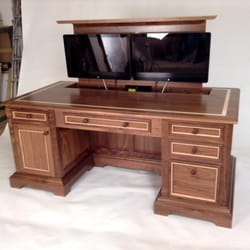 Photo Of ClearLake Furniture   Ludlow, VT, United States. Walnut Home  Office Desk