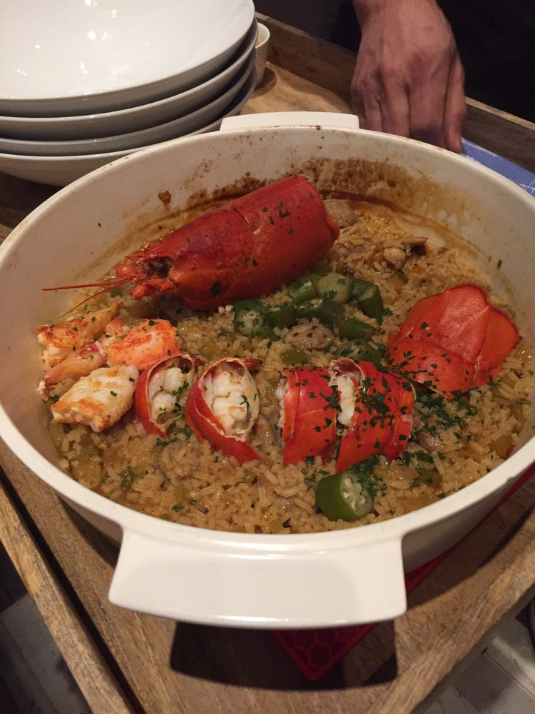 Lobster jambalaya yelp for Fish by jose andres menu