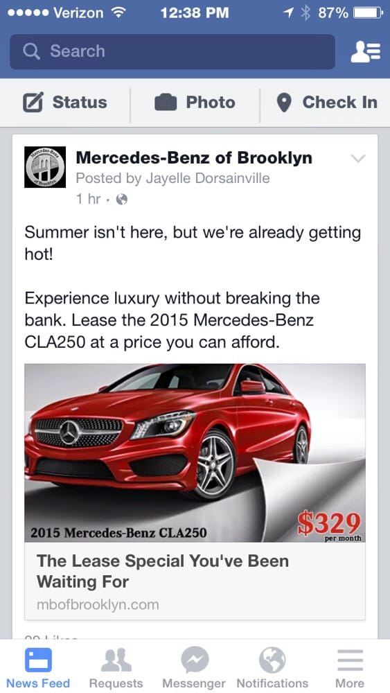 Great deals yelp for Mercedes benz of brooklyn ny