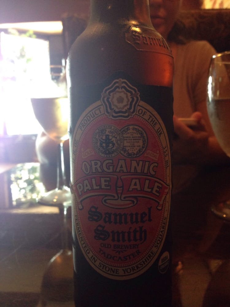 They have organic pale ale samuel smith yelp for Aiyara thai cuisine