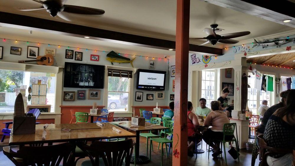 Lucy's Retired Surfers Bar & Restaurant: 221 Duval St, Key West, FL