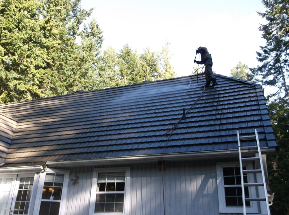 Bird's Eye Roof Cleaning & Exterior Cleaning: 18205 Hintzville Rd NW, Seabeck, WA