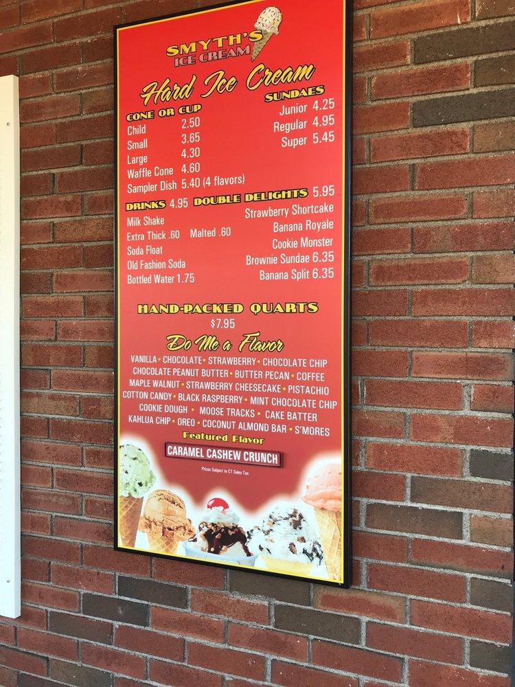 Smyth's Ice Cream Stand: 75 Hazard Ave, Enfield, CT
