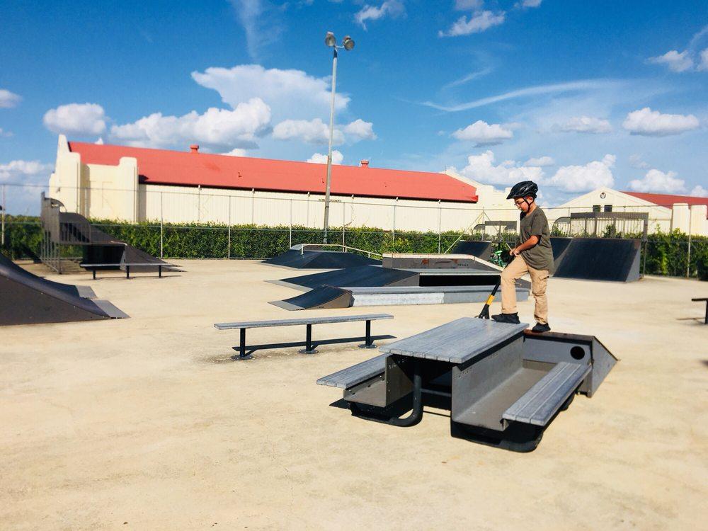 Randolph AFB Skate Park: 519 C St E, Universal City, TX