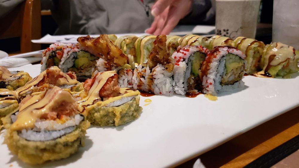 Food from Zeng Sushi Asian Cuisine