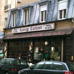 Auberge Cardinet - Français - 104 rue Cardinet, Malesherbes/Villiers ...