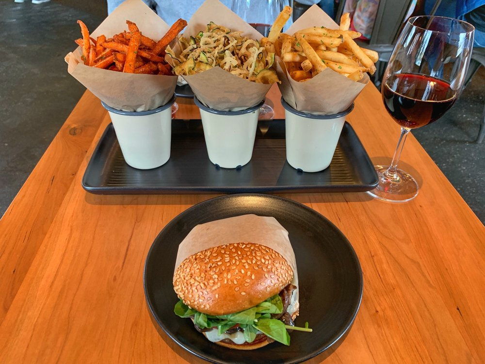 Food from Roam Artisan Burgers