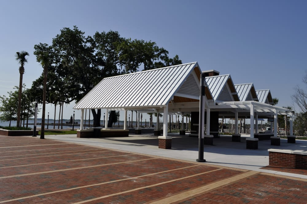 Large Picnic Shelter With Fireplace Yelp
