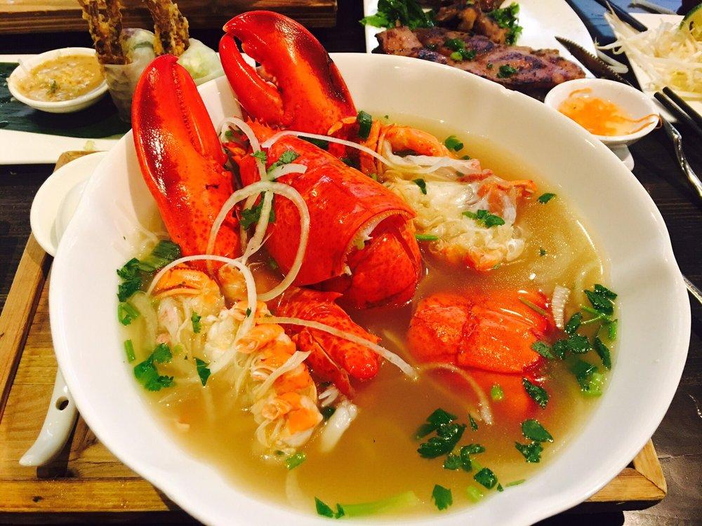 Lobster B Soup Lobster noodle ...