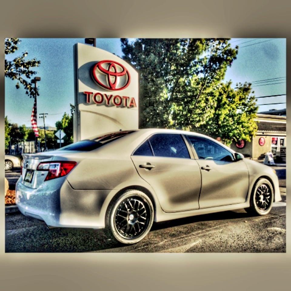 Walnut Creek Toyota >> 2013 Toyota Camry Se V6 Aka Vidia Yelp