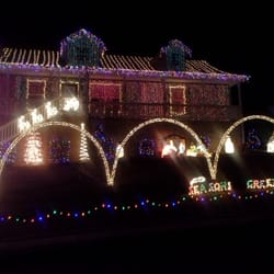 photo of christmas light display at random house soddy daisy tn united