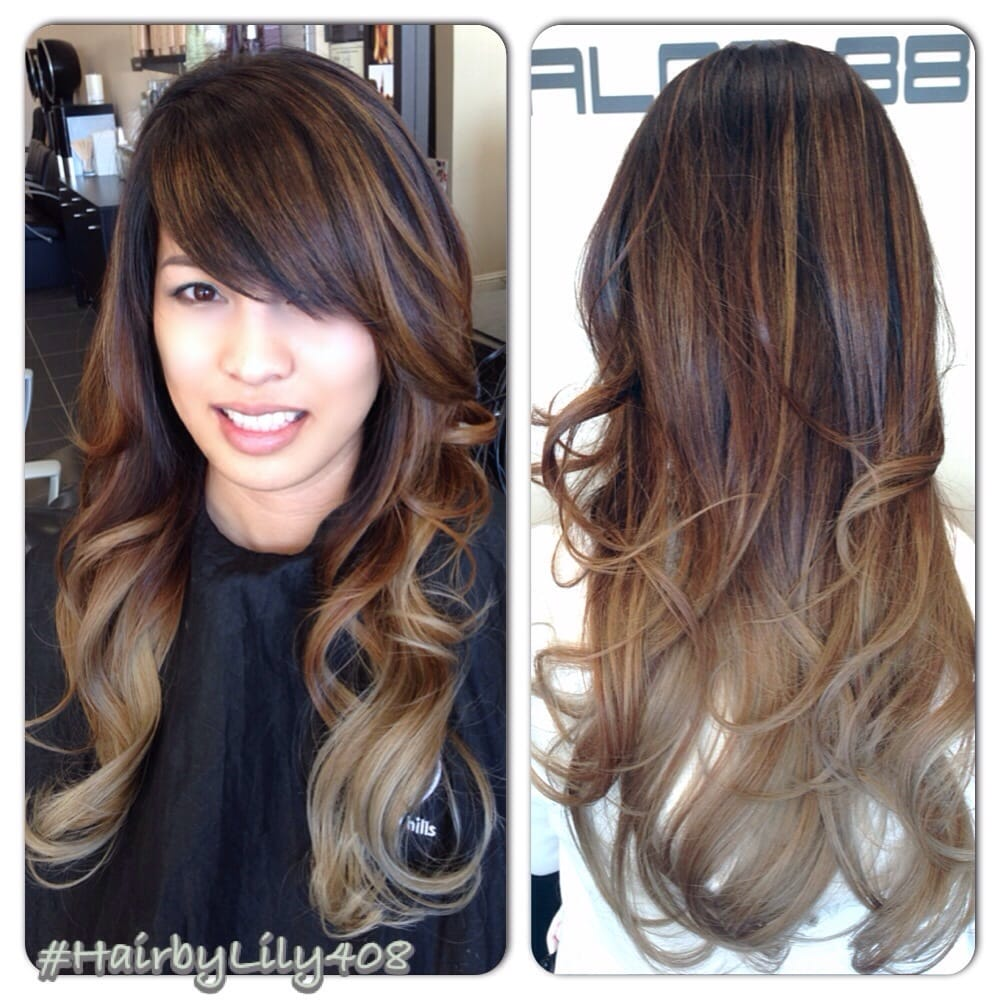 So Much Better Corrected Ombr 233 With Balayage Highlights