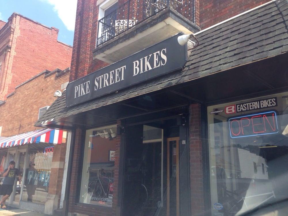 Pike Street Bikes: 215 Pike St, Shinnston, WV