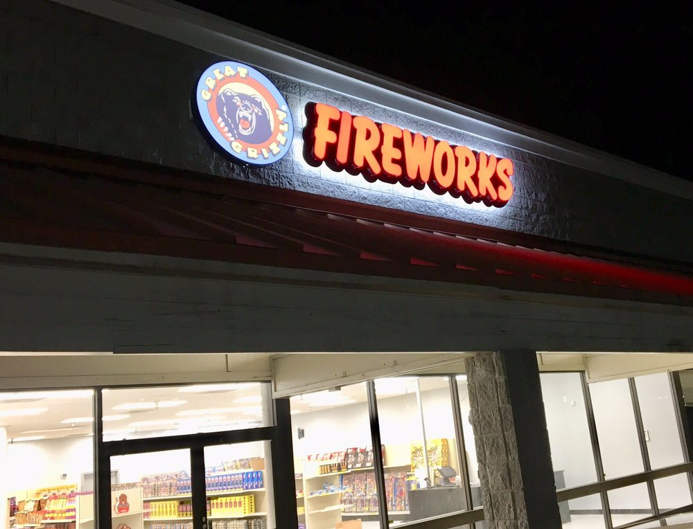 Great Grizzly Fireworks: 228 Bullsboro Dr, Newnan, GA