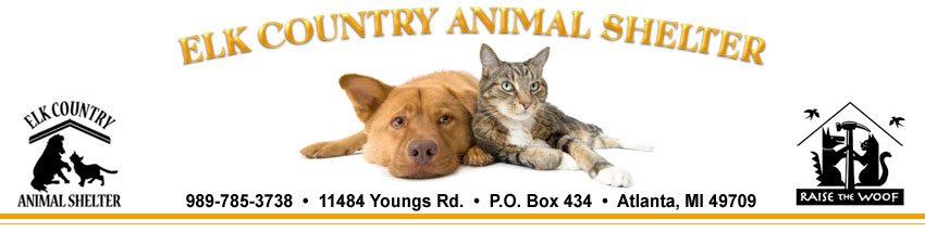 Elk Country Animal Shelter: 11484 Youngs Rd, Atlanta, MI