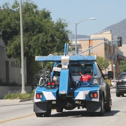 Hook up towing pasadena