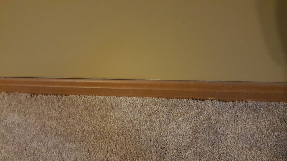 Luna Flooring Installation Gaps Between Capetown Edge And Baseboard
