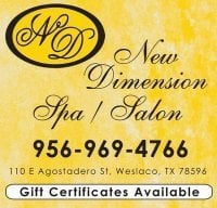 New Dimension Spa & Salon: 110 E Agostadero St, Weslaco, TX