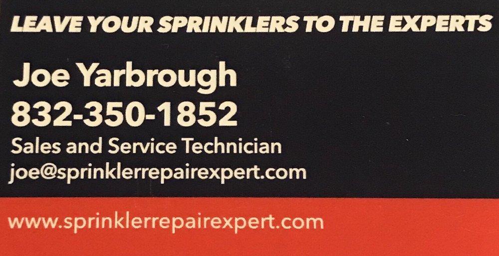 Sprinkler Repair Expert of Pearland: Pearland, TX