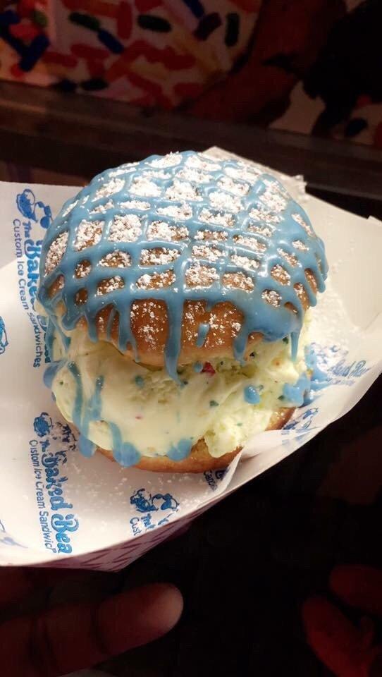Birthday Cake ice cream sandwich Yelp