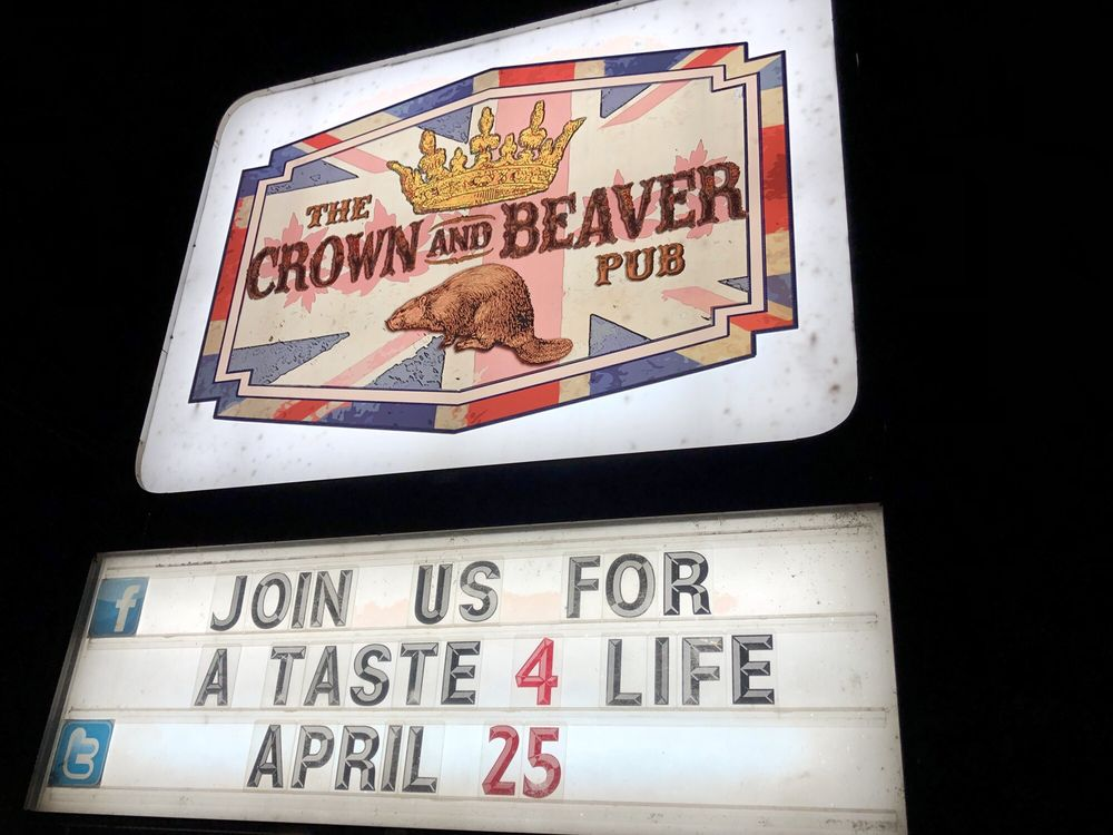 The Crown and Beaver Pub
