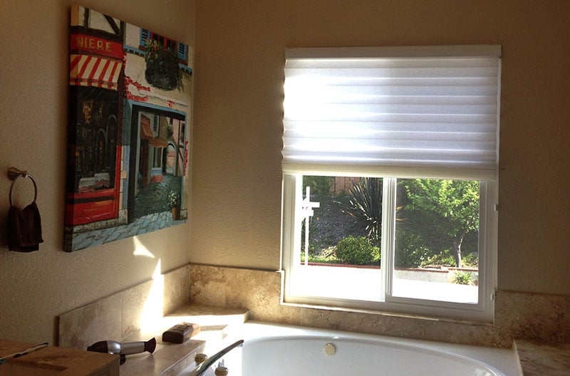 Roman Pleat Shades By Enlightened Style For Budget Blinds