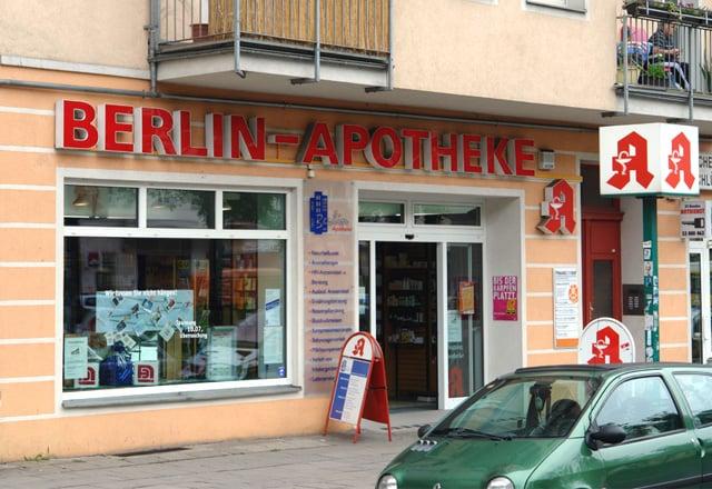 berlinapotheke 15 rese as farmacia warschauer str 27 friedrichshain berl n berlin. Black Bedroom Furniture Sets. Home Design Ideas