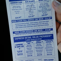 Soapy Joe S Car Wash Prices