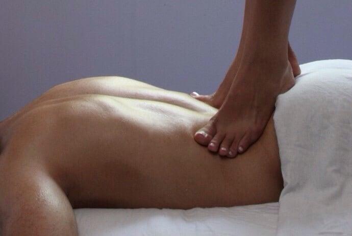 aftensmad massage fed
