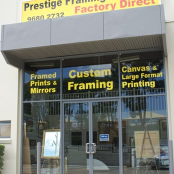 Prestige Framing Gallery Framing 7 13 Victoria Ave Castle Hill