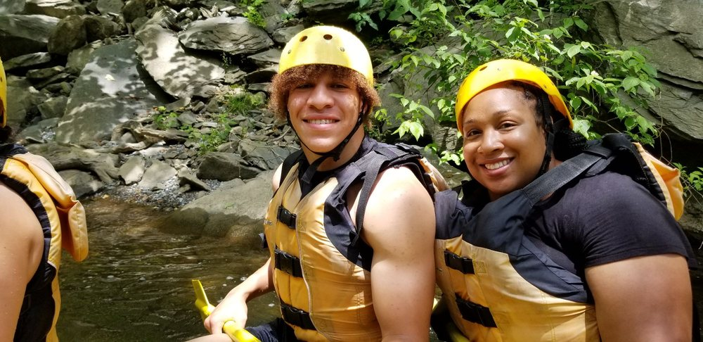 Social Spots from Rafting In the Smokies