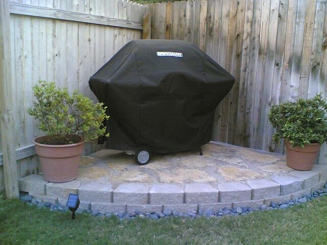 Photo Of Serenity Lawn Services Leander Tx United States Bbq Platform