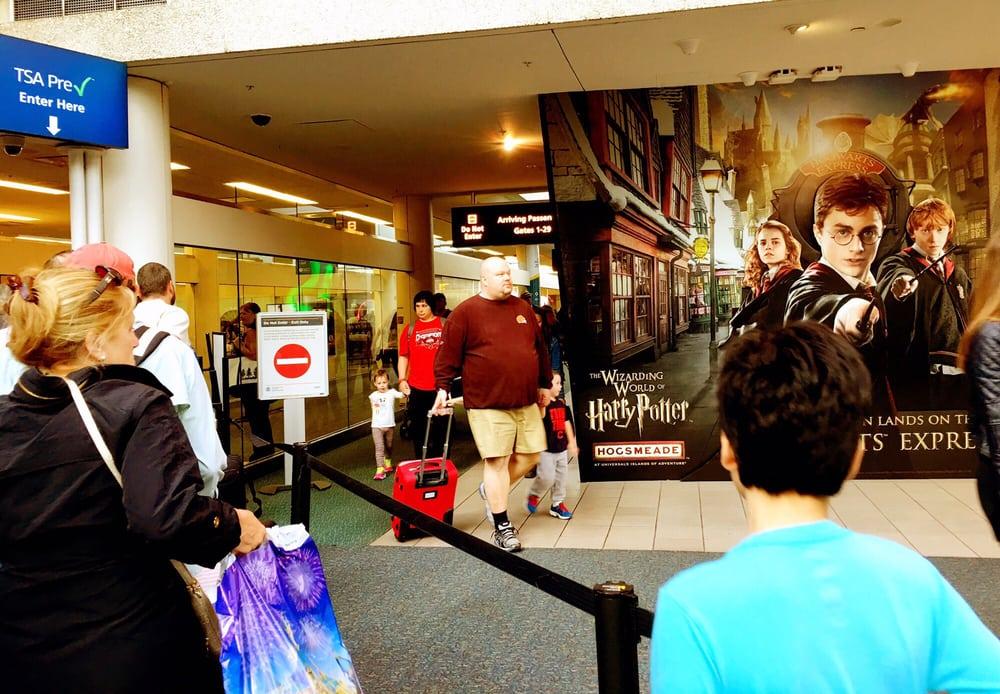 TSA Checkpoint West - Orlando International Airport