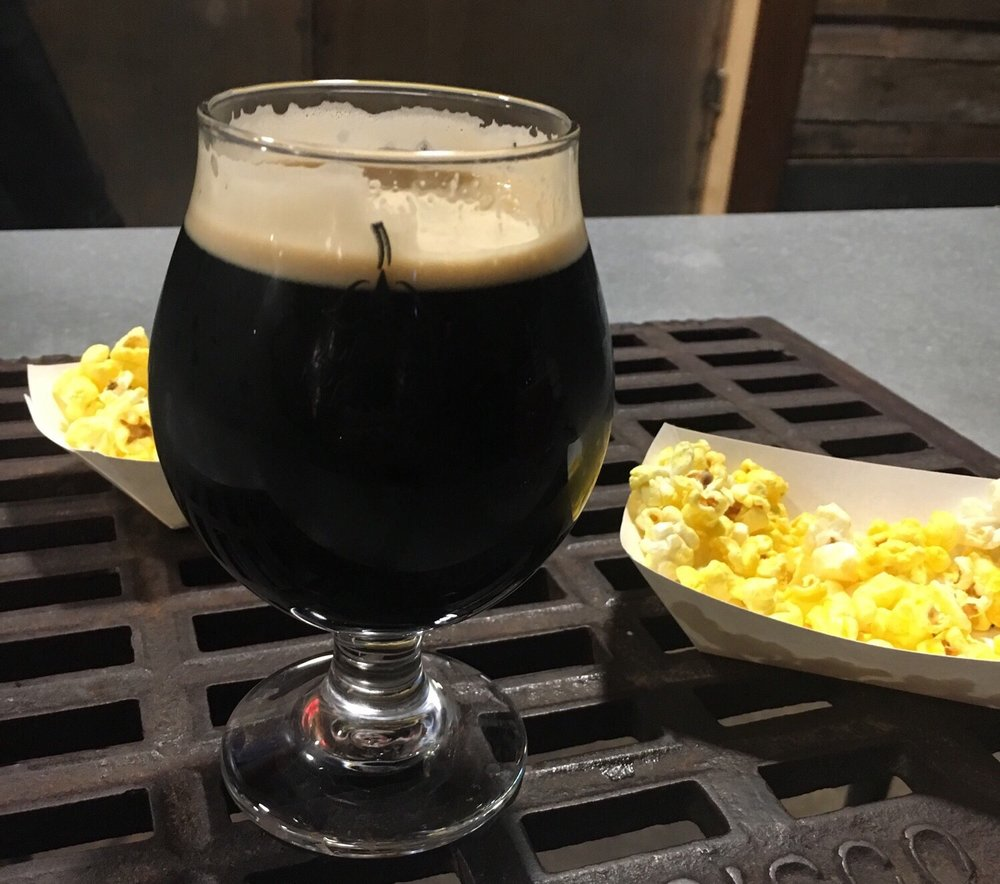 Image result for popcorn stout beer