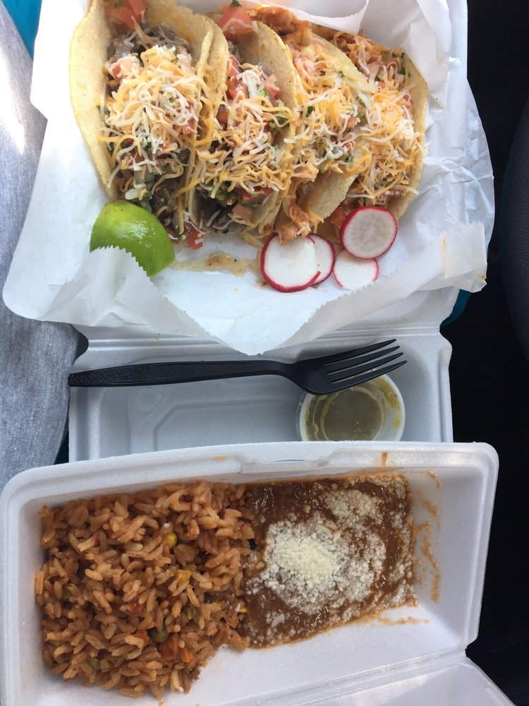 Food from Antojitos Las Delicias