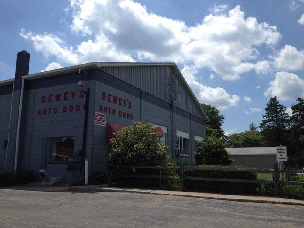 Dewey's Auto Body, Inc: 1111 W Green St, Hastings, MI