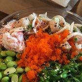 Make fish poke sushi burrito 940 photos 658 reviews for Fish me poke menu