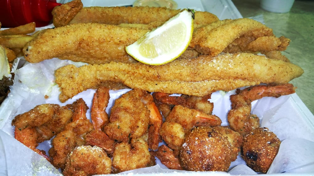 Awesome fried fish fried shrimp salty yelp for Good fried fish near me
