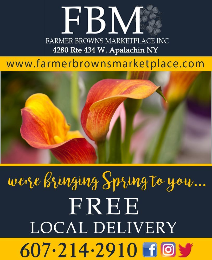 Farmer Browns Marketplace: 4280 Rte 434, Apalachin, NY