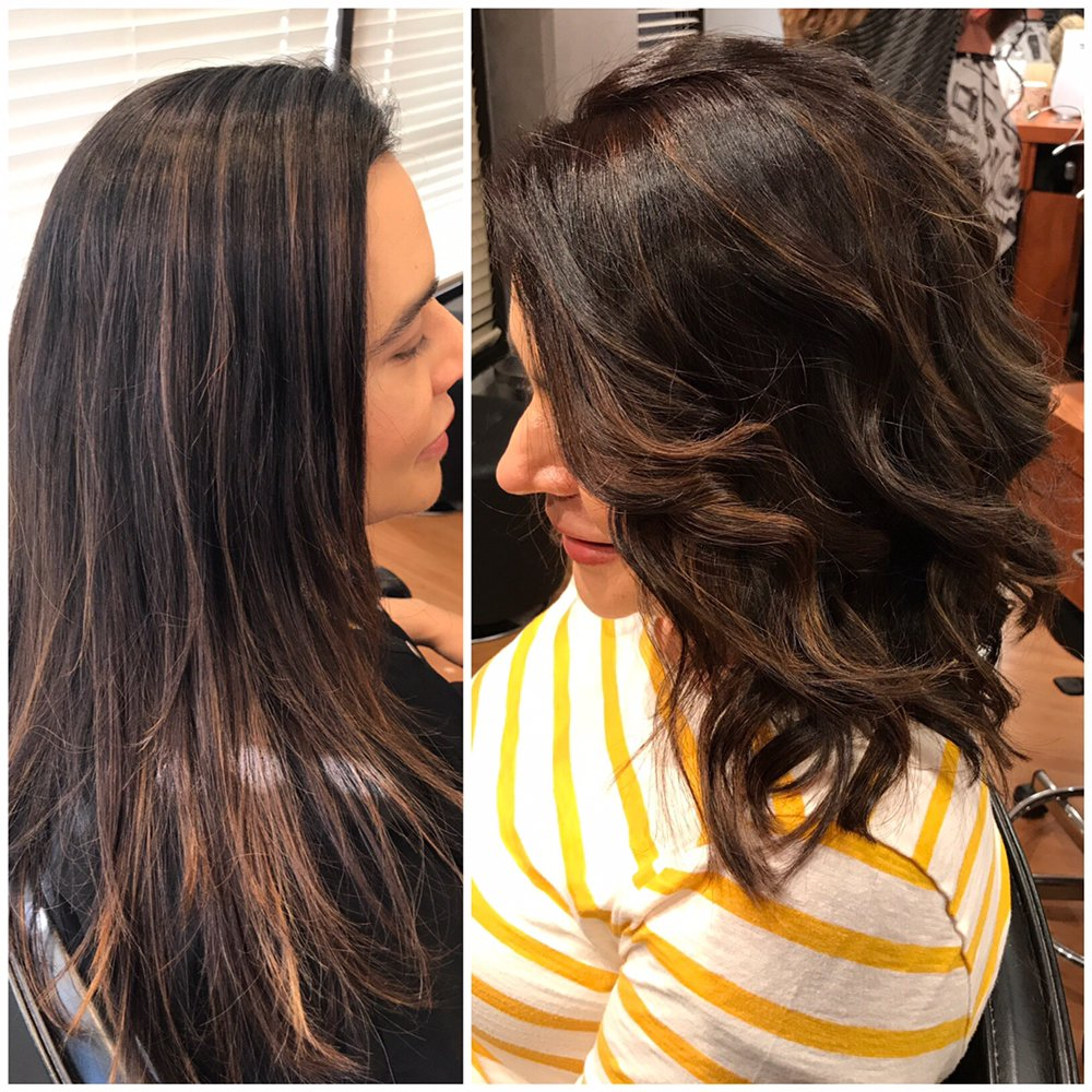 Beautiful Brunette With Toffee Highlights Yelp