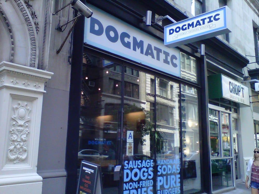 Dogmatic Restaurant New York