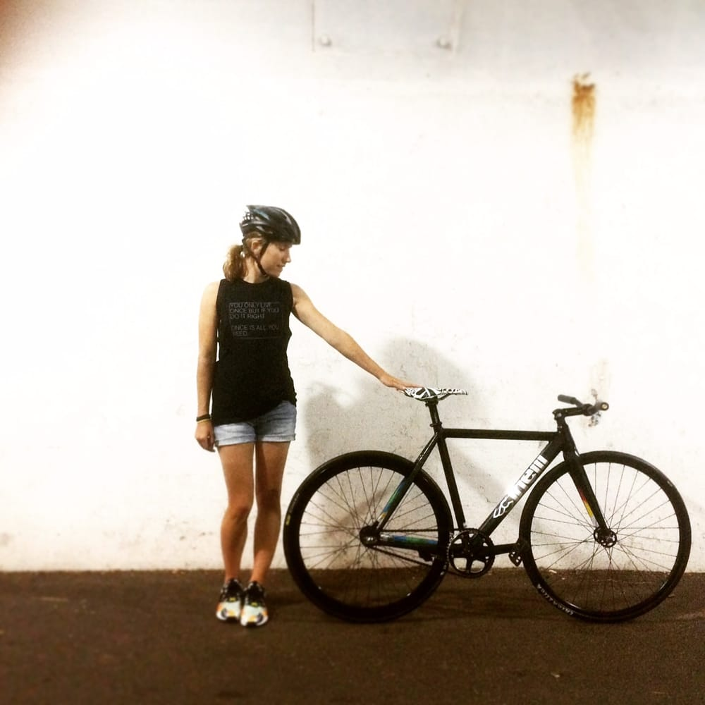 d52e542320b Photo of Cycle Smithy - Chicago, IL, United States. Anne's new Cinelli Mash