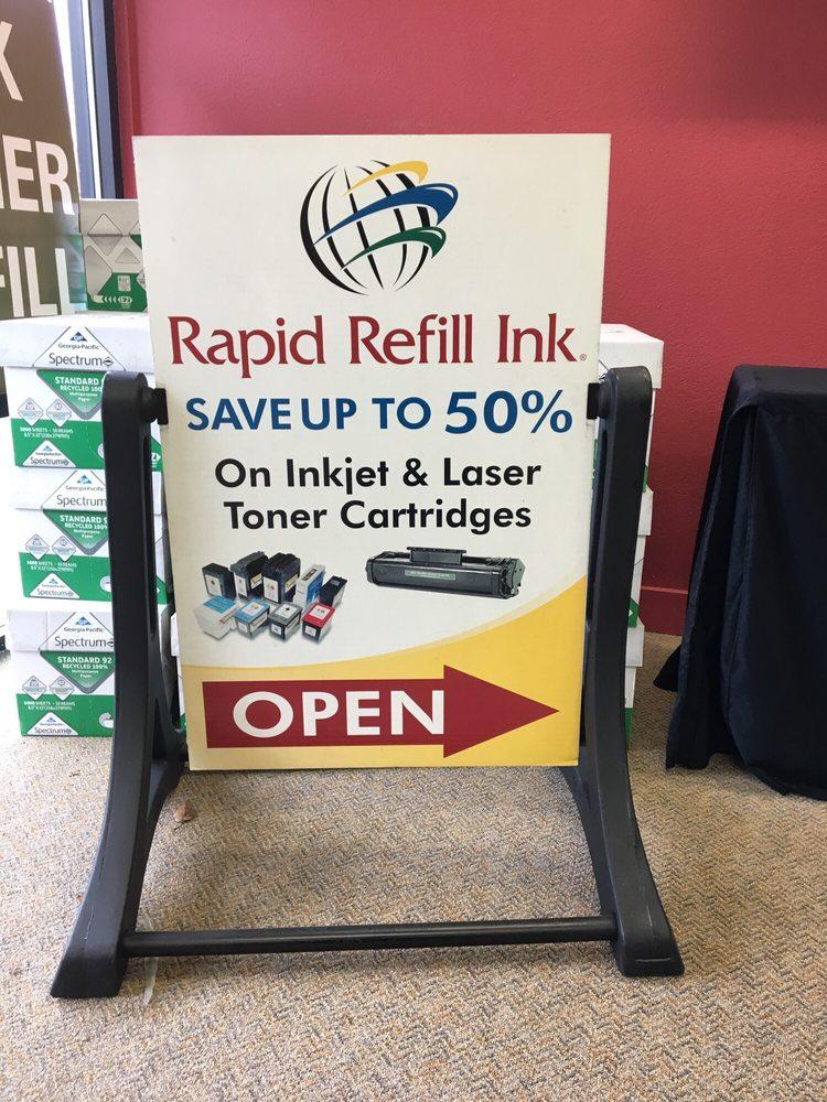 Rapid Refill Ink: 13600 NE 20th St, Bellevue, WA
