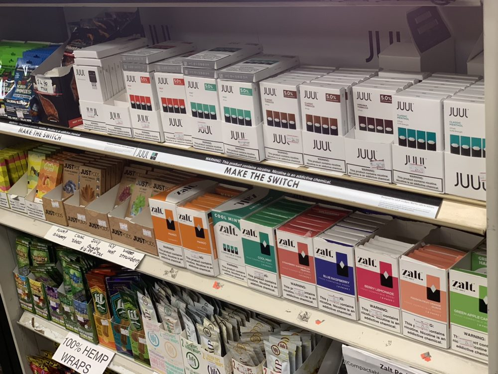 Huge variety of 5% nicotine pods: Juul Pods, Zalt Pods, Just