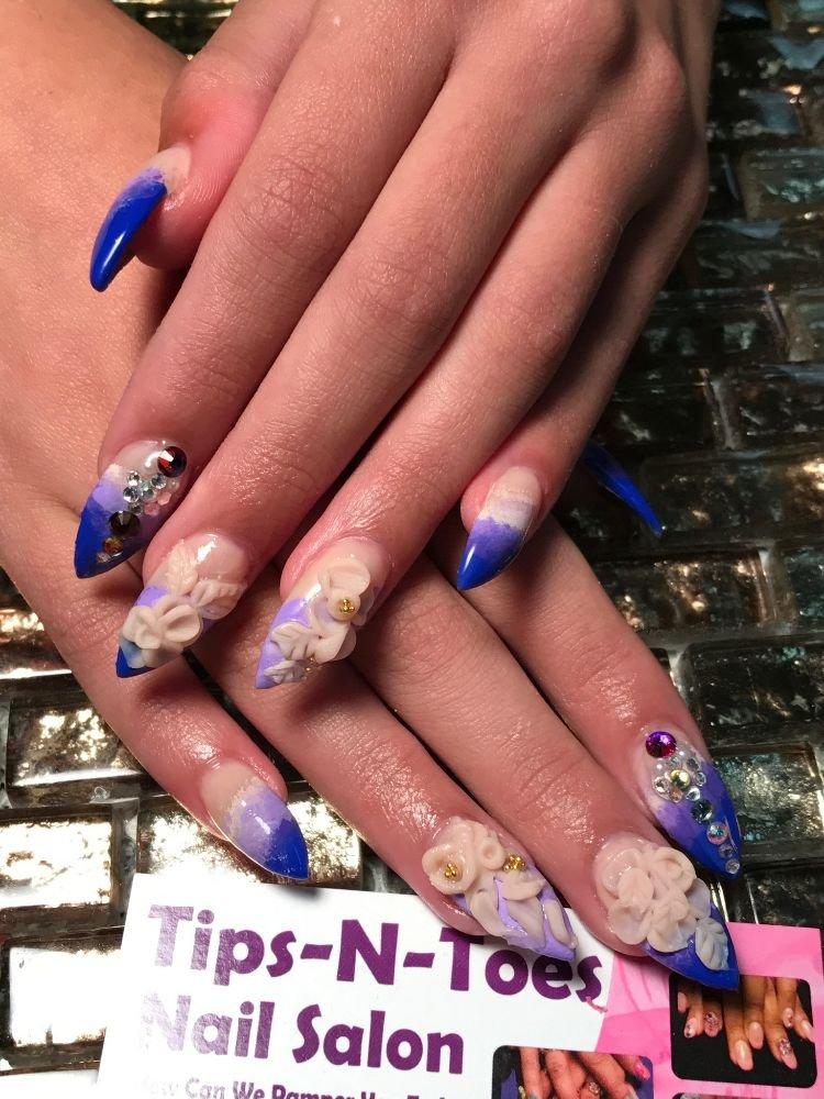 Tips-N-Toes Nail Salon - 48 Photos - Nail Salons - 73 West Main St ...