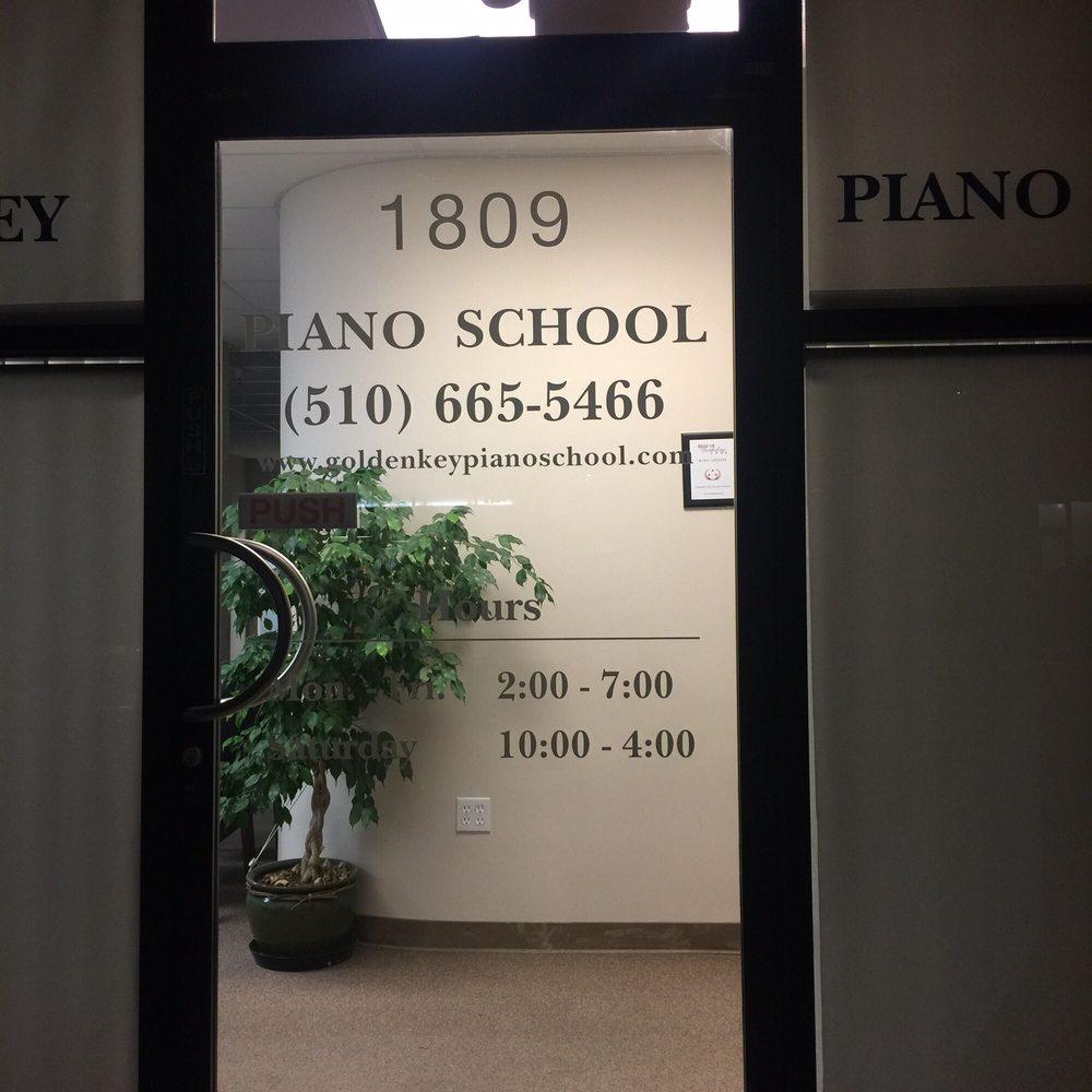 Golden Key Piano School: 1809 University Ave, Berkeley, CA