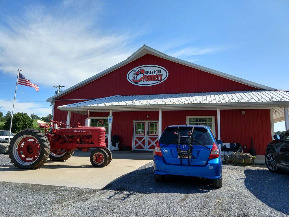 Rocky Point Creamery: 4323 Tuscarora Rd, Tuscarora, MD
