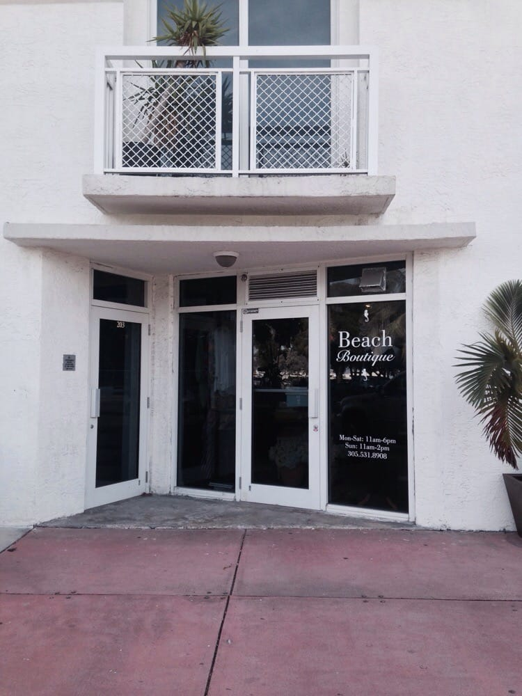 Beach Boutique: 1701 Sunset Harbour Dr, Miami Beach, FL