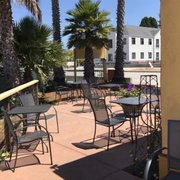 ... Photo Of Coffeeville   Watsonville, CA, United States. Beautiful  Enclosed Patio Area ...